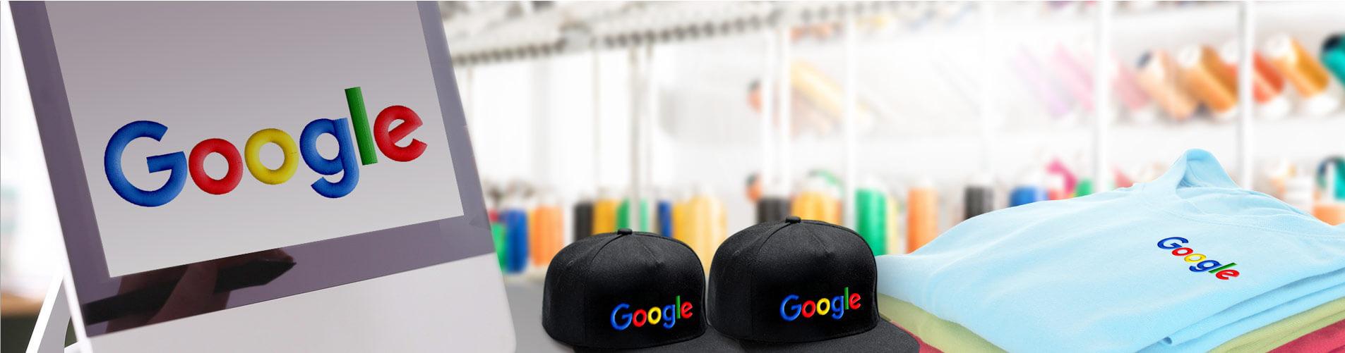 רקמה ממוחשבת למוצרי גוגל