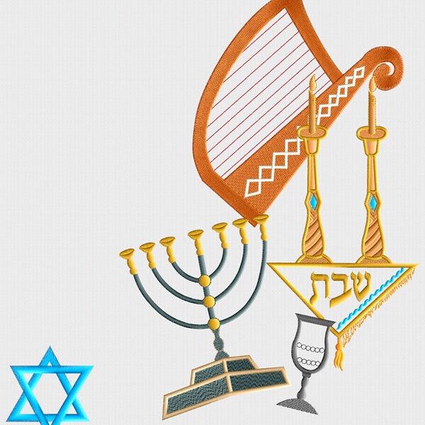 הדמיה של פמוטים נבל מגן דוד