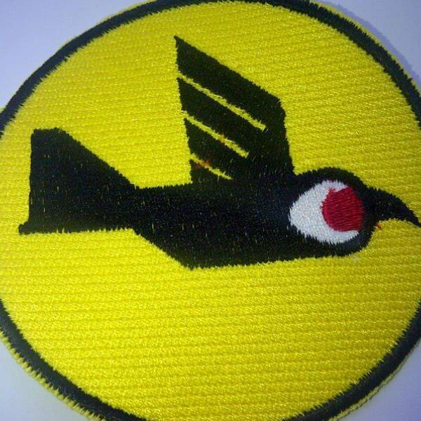 פא'ץ רקע צהוב וציפור