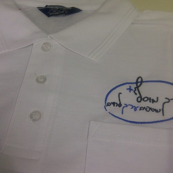 """קד""""מ ופרסום- רקמה על חולצה ערך מוסף"""